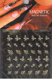 Naglar Nail Art Sticker - 416