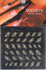 Naglar Nail Art Sticker - 417