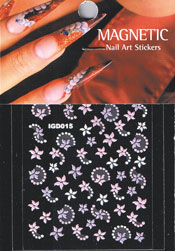 Naglar Nail Art Sticker - 422