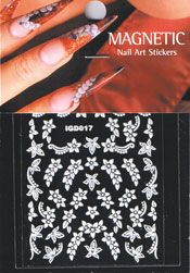 Naglar Nail Art Sticker - 423