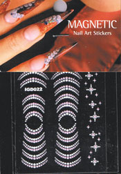 Naglar Nail Art Sticker - 424