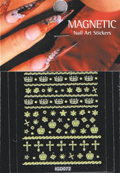 Naglar Nail Art Sticker - 426