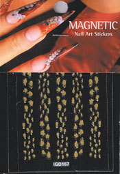Naglar Nail Art Sticker - 432