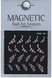 Naglar Delicate Flower Sticker - 6