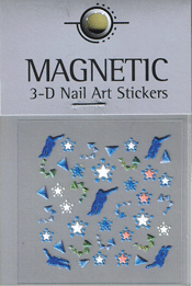 Naglar Rubber Nail Art Sticker - 469