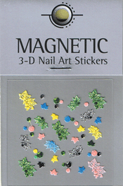 Naglar 3D Nail Art Sticker - 470