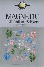 Naglar 3D Nail Art Sticker - 471