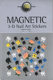 Naglar 3D Nail Art Sticker - 472