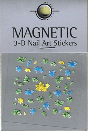 Naglar 3D Nail Art Sticker - 473