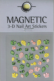 Naglar 3D Nail Art Sticker - 474