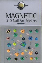 Naglar 3D Nail Art Sticker - 475