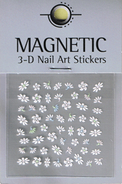 Naglar 3D Nail Art Sticker - 476