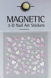 Naglar 3D Nail Art Sticker - 479