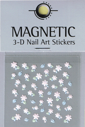 Naglar 3D Nail Art Sticker - 480