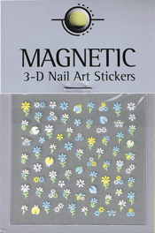 Naglar 3D Nail Art Sticker - 481