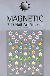 Naglar 3D Nail Art Sticker - 483