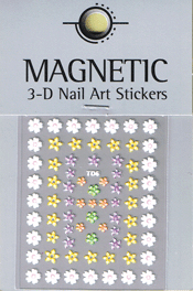 Naglar 3D Nail Art Sticker - 484