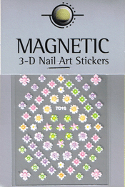 Naglar 3D Nail Art Sticker - 485