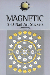 Naglar 3D Nail Art Sticker - 486