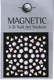 Naglar 3D Nail Art Sticker - 488