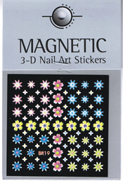 Naglar 3D Nail Art Sticker - 490