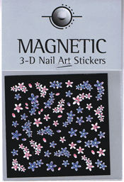 Naglar 3D Nail Art Sticker - 492