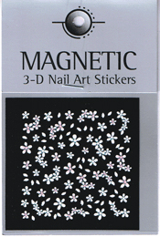 Naglar 3D Nail Art Sticker - 493
