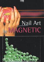 Naglar Bling Bling Drops Light Green - 70 st