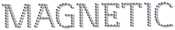 Naglar Magnetic Swarovski Logo Small