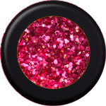 Naglar Stardust Glitter Fire Red - 15 gram