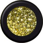 Naglar Stardust Glitter Disco Gold - 15 gram