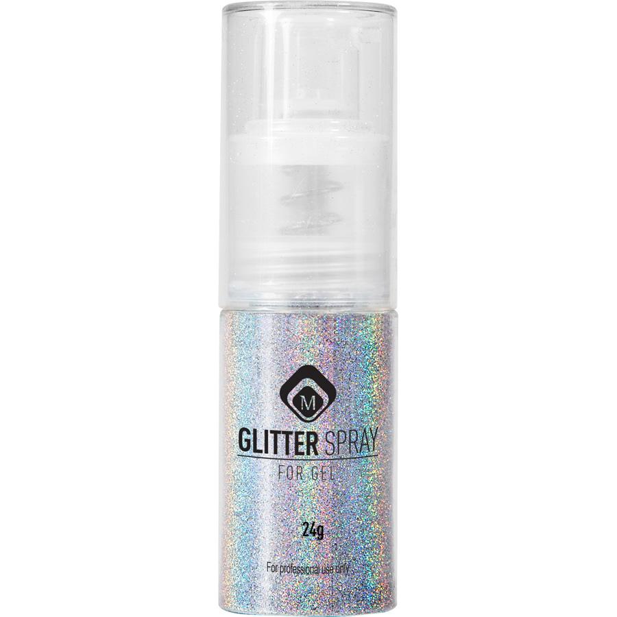 Naglar Glitter Spray Silver - 24 gram