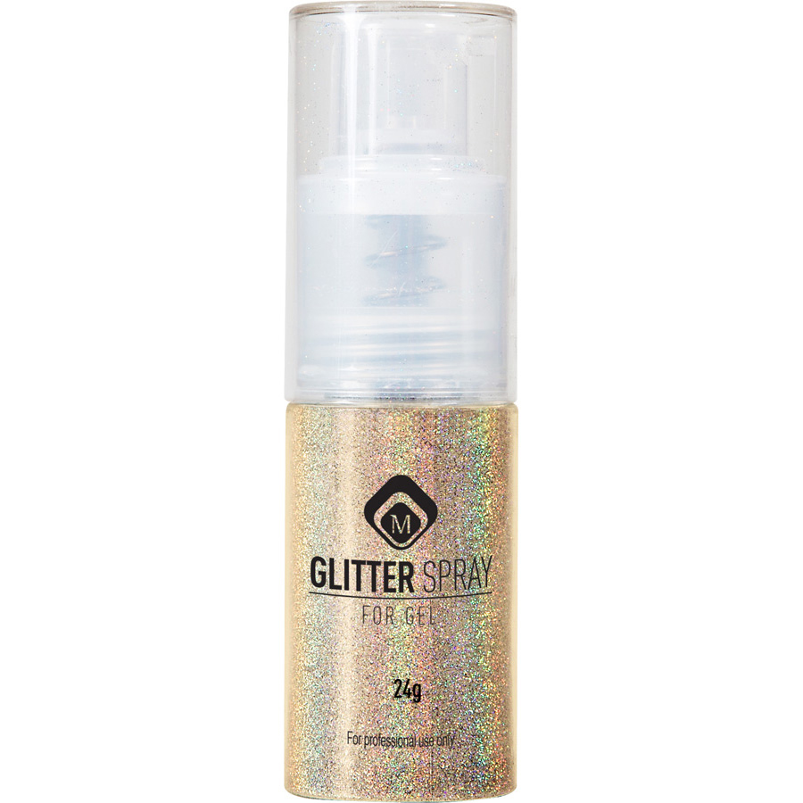 Naglar Glitter Spray Gold - 24 gram