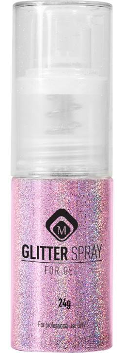 Naglar Glitter Spray Pink - 24 gram