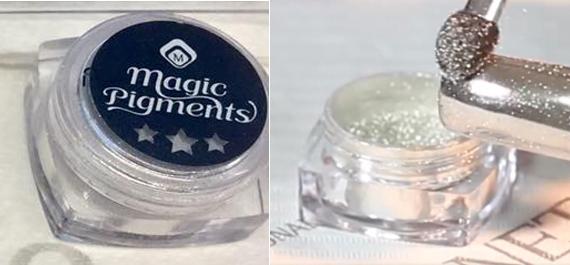 Naglar Magic Silver Chrome Pigment - 2 gram