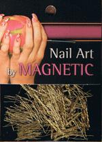 Naglar Nail Art Yarn - Gold