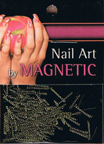 Naglar Nail Art Yarn - Gold/Black