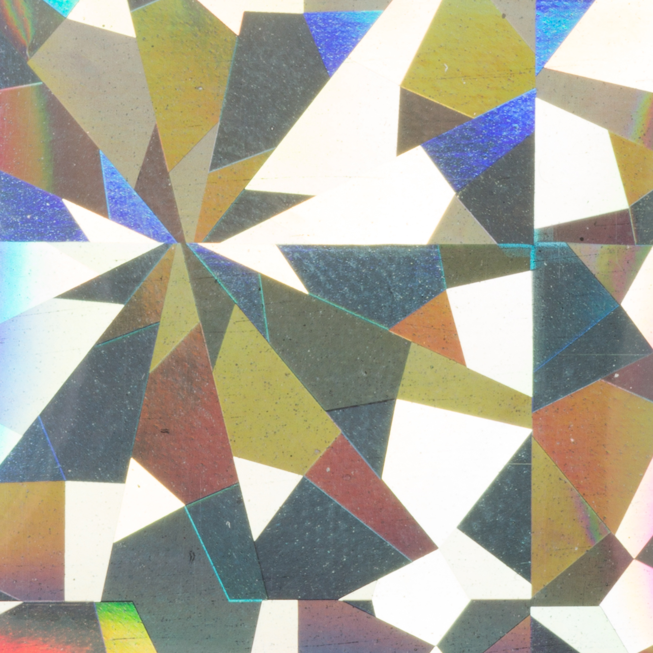 Transfer Foil Hologram Silver Flakes - 1,5 m x 4,8 cm