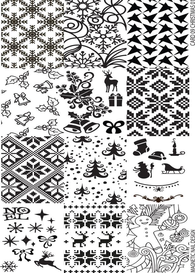 Naglar Stamp Plate Christmas