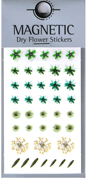 Naglar Magnetic Dry Flower Sticker - 002