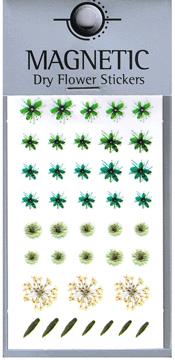 Naglar Magnetic Dry Flower Sticker - 002