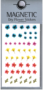 Naglar Magnetic Dry Flower Sticker - 003