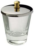 Naglar Dappendish i glas med lock