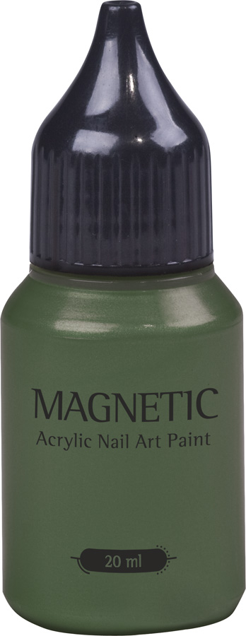 Nail Art Paint Green Leafs - 20 ml