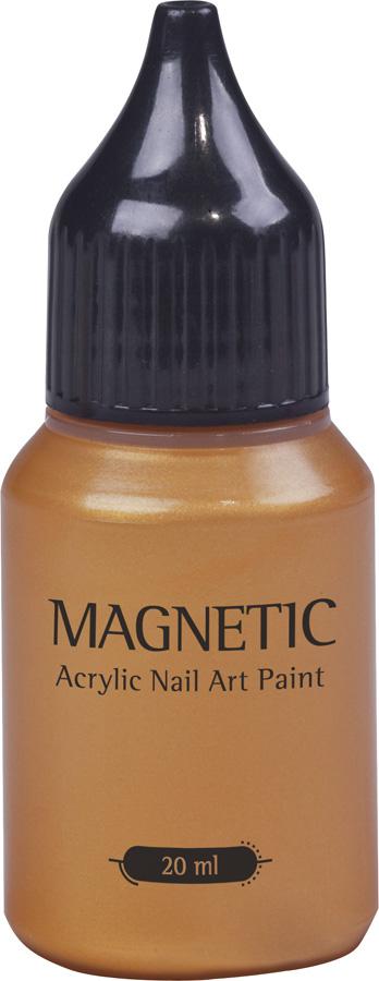 Nail Art Paint Metallic Brass - 20 ml