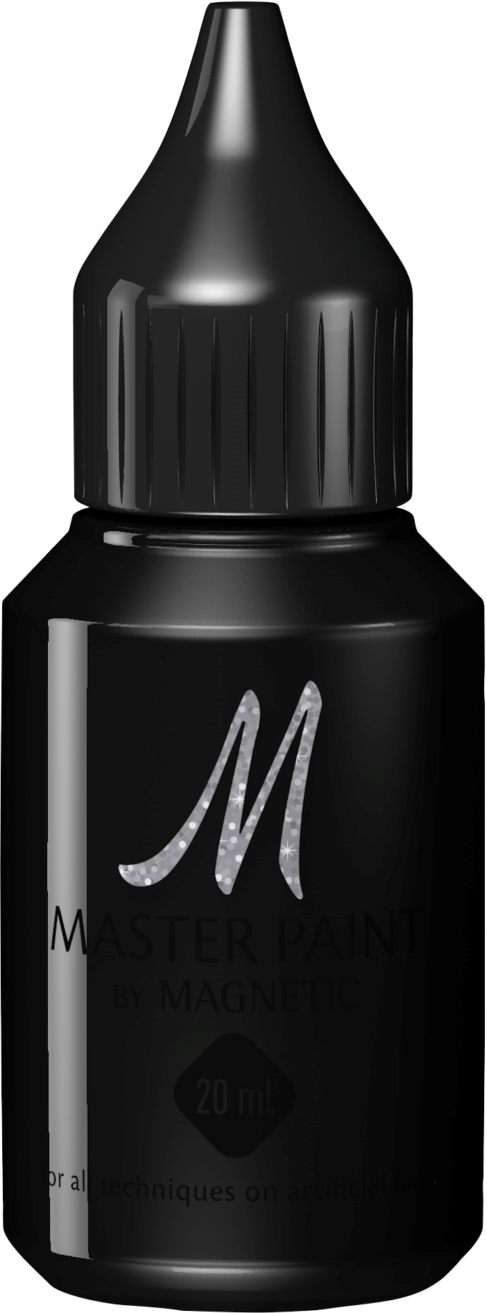 Naglar Master Paint Deep Black - 20 ml