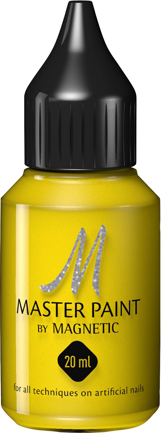 Naglar Master Paint Pure Yellow - 20 ml