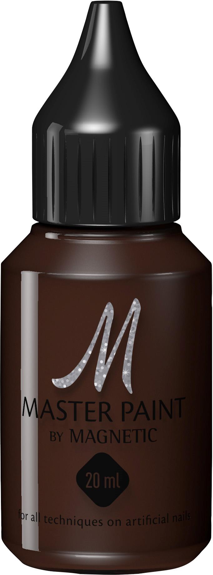 Naglar Master Paint Deep Brown - 20 ml