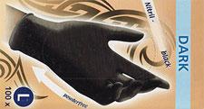 Naglar Nitrilhandskar Black Large - 100 st