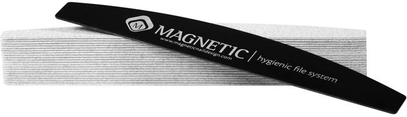 Naglar Engångs Boomerang Special Long Lasting Zebra 100 grit - Hygien System - 50 st